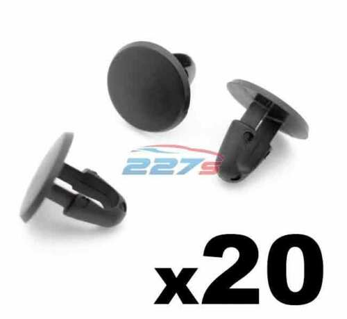 20x Bonnet Rubber Seal Clips, Fasteners for Engine Bay / Bonnet Seals, Lexus