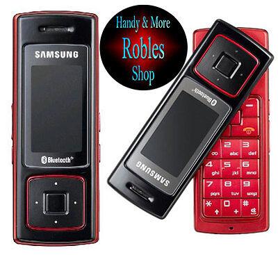 Samsung SGH F200 Rot (Ohne Simlock) TriBand Radio FM MP3 WAP RARITÄT GUT ()