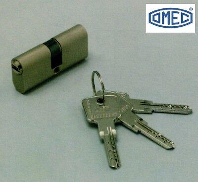 Cylinder Oval Omec of Security Key Flat 2140/04H MM.60C - Oval Cylinder Matte