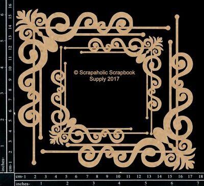 Scrapaholics Chipboard - Fancy Corner Set 1