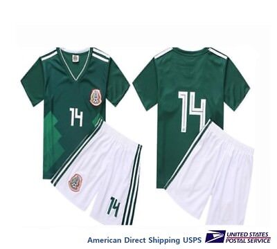 Mexico 2018 Uniform Set 2 Pieces Nwt Seleccion Mexicana Soccer Unisex Us Seller