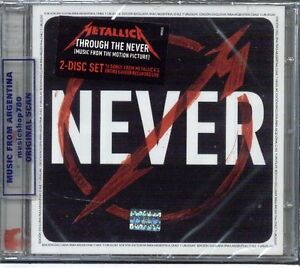 METALLICA-THROUGH-THE-NEVER-LIVE-SOUNDTRACK-SEALED-2-CD-SET-NEW-2013