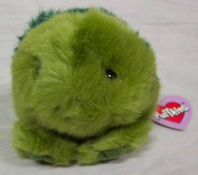 """Puffkins SHELLY THE TURTLE 3"""" Green Plush STUFFED ANIMAL Toy NEW"""