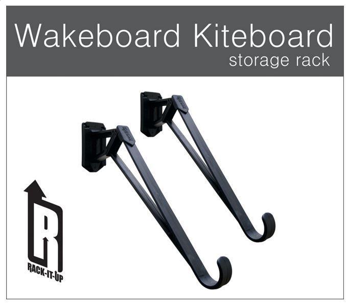 12 SETS WAKEBOARD / KITEBOARD / SNOWBOARD / SUFBOARD GARAGE STORAGE RACK SYSTEM