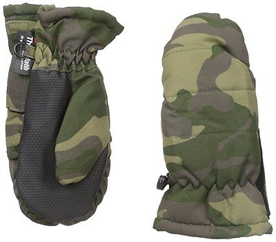 Nolan Gloves Big Boys' EZ Open Camo Ski Mitten # 2-4T
