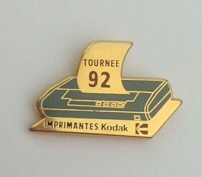 Pin's kodak imprimante signé atc paris lapel pin (ref 101)