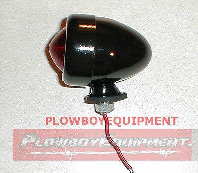 6v 6 Volt Black Tractor Bullet Tail Light For John Deere A B M Mt R