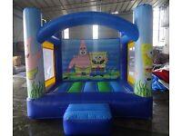 Sponge bob bouncy castle brand new!