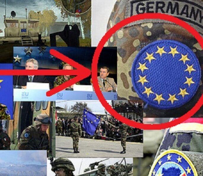 NATO OTAN COALITION SP OPS JTF OPERATOR burdock-velkrö European Union Flag