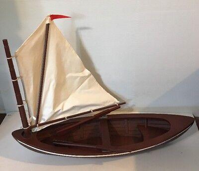 American Girl Caroline Skiff Boat With Oars For 18