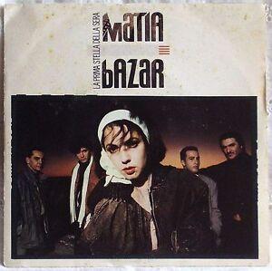 MATIA-BAZAR-LA-PRIMA-STELLA-DELLA-SERA-b-w-MI-MANCHI-ANCORA-45-GIRI-7-034