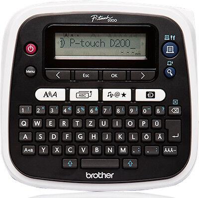 Beschriftungsgerät Brother P-touch D200 neu ovp für TZe231, TZe131 D-200 D210