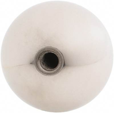 """Gibraltar 1/4-20 Thread, 1.38"""" Diam, Threaded Hole Ball Knob"""