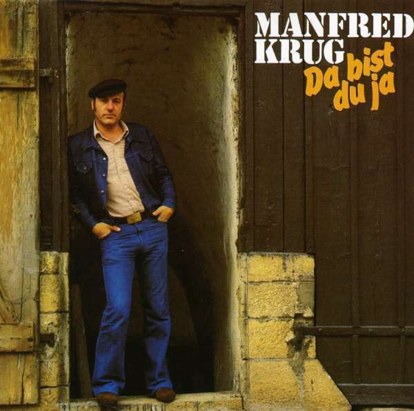 Manfred Krug - Da bist du ja, CD Amiga Neu
