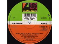 en City ‎– Right Back To You: Garage House 12'' Vinyl