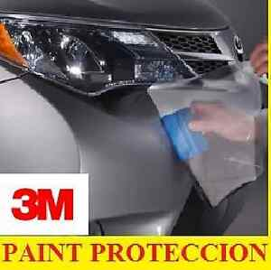3m paint protection film roll 3m fit all cars 24 inch x 5 ft 4mill clear bra. Black Bedroom Furniture Sets. Home Design Ideas