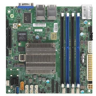 Mini Itx Retail Box - Supermicro A2SDi-4C-HLN4F Mini-ITX Motherboard RETAIL BOX