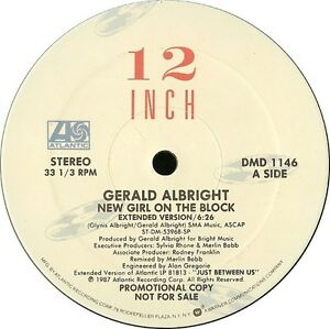 GERALD-ALBRIGHT-New-Girl-On-The-Block-1987-U-S-3-Track-Promo-12inch