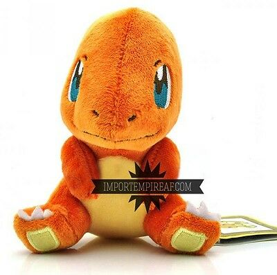 POKEMON CHARMANDER PELUCHE 4 charizard plush figure Salameche Glumanda center ds