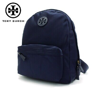 NEW Tory Burch 55113-405 Ella Nylon Lightweight Backpack TORY NAVY $275