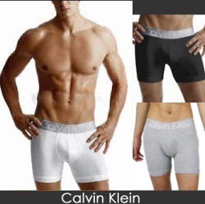 Calvin Klein Men's Briefs Boxer Steel Cotton Brief Men Ck Medium U2708 Free