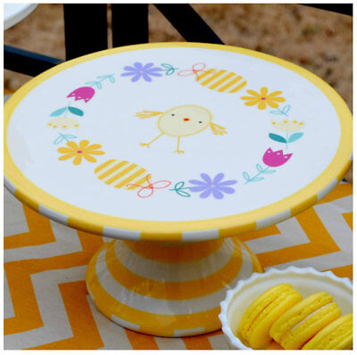 Easter Ceramic Cake Stand from Sur La Table - Cake Table