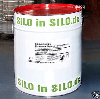 Silolack  1 x 30 Liter  Siloanstrich Silobitumen Silo Bitumen