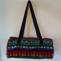 Colourful woven bag