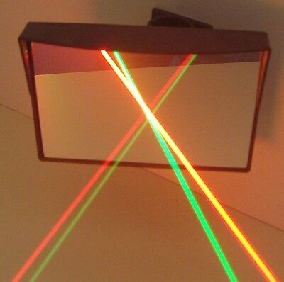 6 Adjustable Laser Light Show Bounce Mirrors Mirror Front Surface Optics Fence