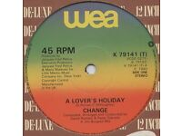 Change ‎– A Lover's Holiday / The Glow Of Love: Funk / Soul 12'' Vinyl