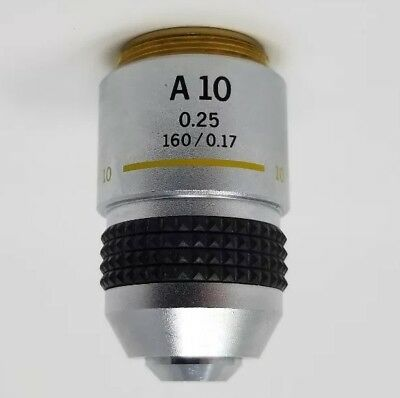 Olympus Microscope Objective A 10x 0.25 1600.17 Ch Ch2