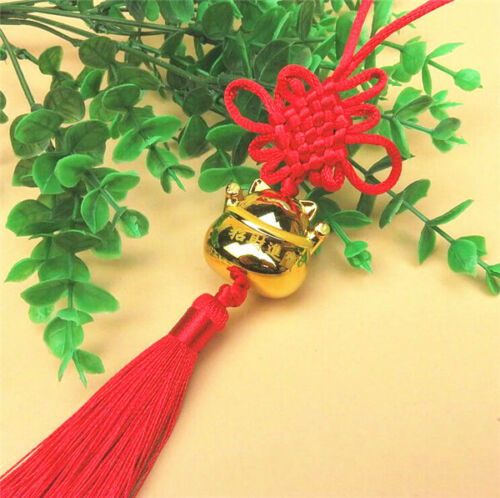 Good Luck Fengshui Japanese Maneki Neko Fortune Lucky Beckoning Cat Tassel