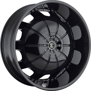 2 CRAVE WHEELS H1 in 9,5x22
