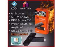 Amazon Fire TV Stick 2nd Gen w/ Kodi 17.6 + Terrarium/Mondeo Movies✓TV Shows✓Live Sports✓Kids✓