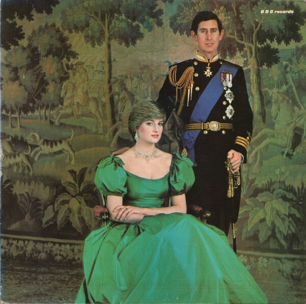 St Brides Real Estate: The Royal Wedding LP.TRC 1053.Canada.BBC Records 1981