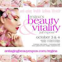 Regina Beauty & Vitality Fall Expo, Oct 3/4