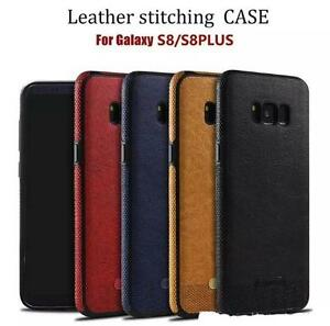 GALAXY s8 AND s8 Plus LEATHER BACK  CASES !!!