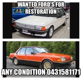 Wanted: Wanted Ford xd and xe falcon or fairmont
