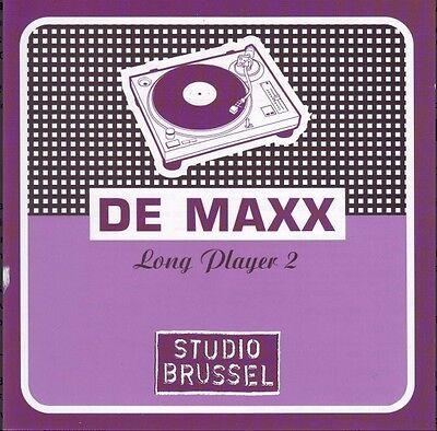 DE MAXX LONG PLAYER 2 (2 CD) STUDIO BRUSSEL Jamiroquai, Basement Jaxx, Xzibit,,,