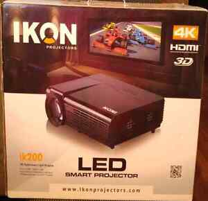 IKON LED Smart Projector(Condition New)