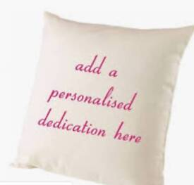 Personalised Gifts, books cushions and candle melts