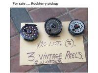 3 vintage reels