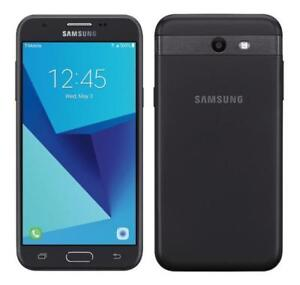 EXCELLENT SAMSUNG GALAXY J3 PRIME UNLOCKED / DEBLOQUE ANDROID WIFI TELEPHONE FIDO ROGERS TELUS BELL KOODO CHATR FIZZ +++