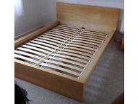 Double bed (IKEA Malm)