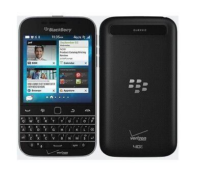 BlackBerry Classic Q20-(Verizon) Smartphone Cell Phone GSM Unlocked None Camera
