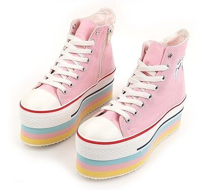NEW MAX Women Platforms Shoes for Girls Fashion Wedge Heel L