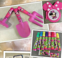 Minnie Mouse pack- tools, pens, pretend blush 10+items Brassall Ipswich City Preview