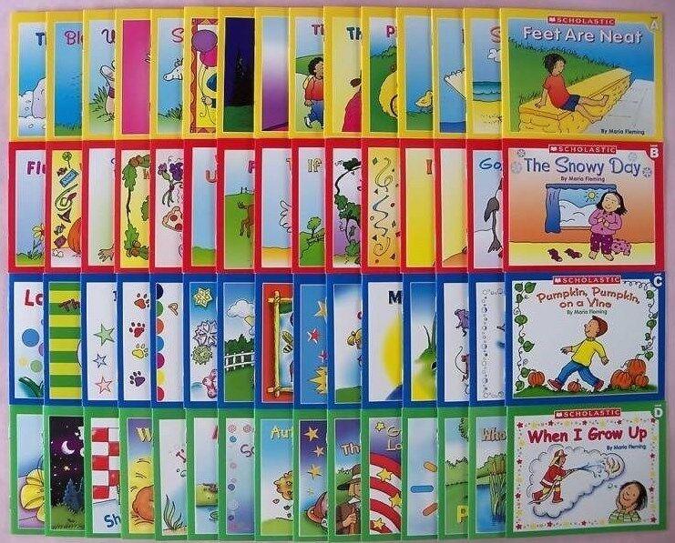 Childrens Books Phonics Set First Little Kindergarten Grade Homeschool Lot 60