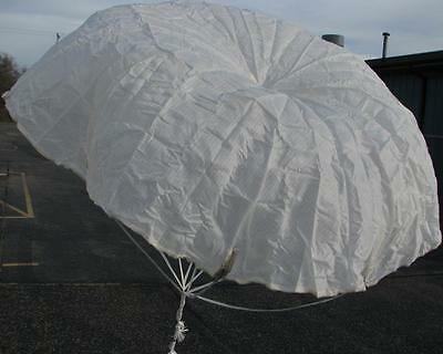 "Military Surplus 36"" Signal Flare Parachute NEW Original USA Rocket, Toy R/C"