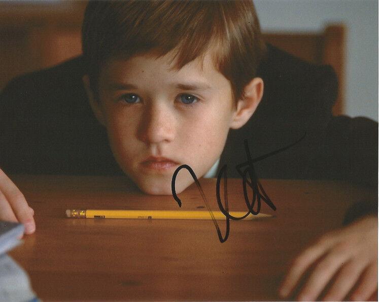 Haley Joel Osment Sixth Sense Autographed Signed 8x10 Photo COA